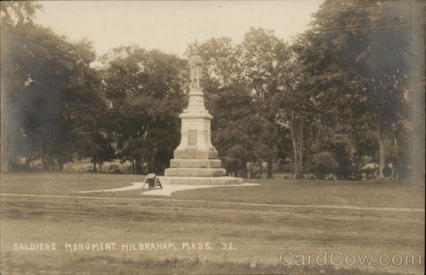 Soldiers Monument Wilbraham Massachusetts