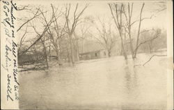 Flooded Sawmill at the River