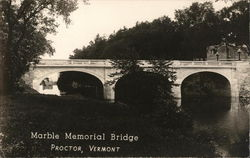 Marble Memorial Bridge Postcard