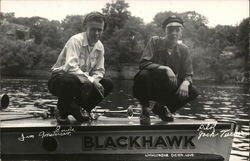 "Sailors for the ""Blackhawk"" Boat"