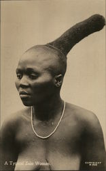 A Typical Zulu Woman