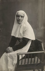 Woman in Nun's Habit