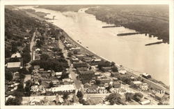 Bird's Eye View of Fountain City, Wis.