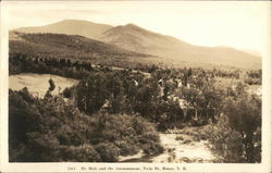 Mt. Hale and the Ammonoosac, Twin Mountain House