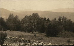 View South-West, Newfane Hill