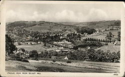 View Of The Town From Selsley Hill Postcard
