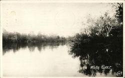 A view of White River Circa 1948
