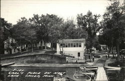 Carl's Place on Nest Lake Postcard