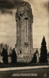 Charity Crucifixion Tower Postcard