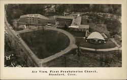 Air View of the First Presbyterian Church