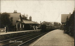 A view of Carr Railway Station - Lancashire Union Railway