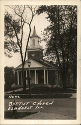 Baptish Church Postcard