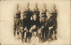 Gardner High School Winning Basketball Team 1916