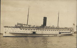 """Governor Cobb"" Steamship Postcard"