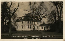 The Buckman Tavern - Built in 1690