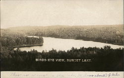 Birds-Eye View, Sunset Lake