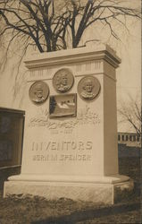 Monument: Inventors Born in Spencer