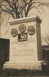 Monument to Inventors born in Spencer - Howe Family
