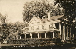 Mrs. W. E. Wood House