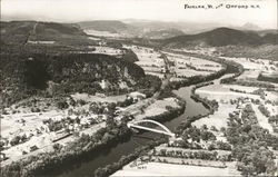 Aerial View of Fairlee, VT and Orford, NH