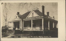 Residence of J.W. Hooks - Mayor