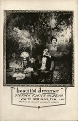 Beautiful Dreamer at the Stephen Foster Museum Postcard