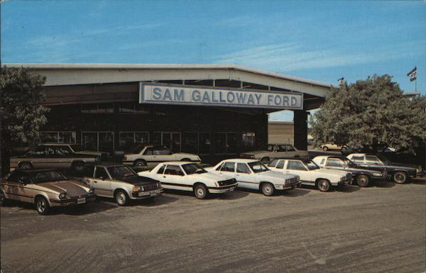 sam galloway ford fort myers fl postcard. Black Bedroom Furniture Sets. Home Design Ideas