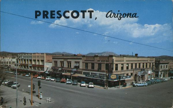 Northwest corner of Gurley and Cortez Streets Prescott Arizona