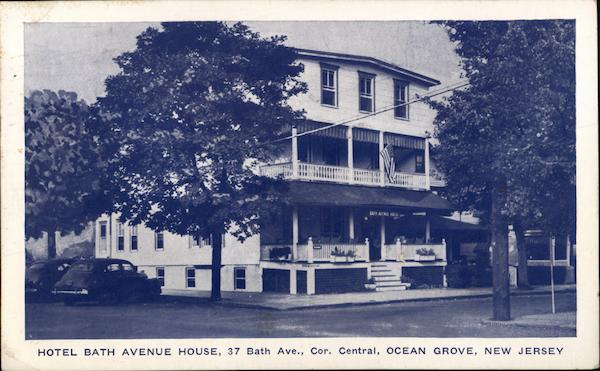 Hotel Bath Avenue House Ocean Grove New Jersey