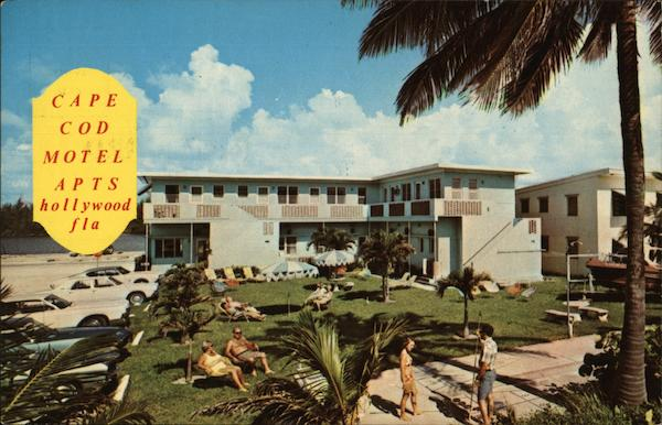 Cape Cod Motel Apartments Hollywood Florida