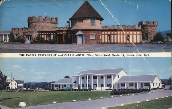 The Castle Restaurant and Olean Motel New York