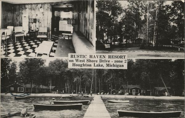 Rustic Haven Resort Houghton Lake Michigan