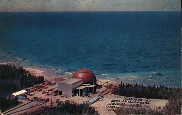 Big Rock Point Nuclear Power Plant Charlevoix Michigan