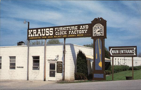 Krauss Furniture Shop South Amana Iowa