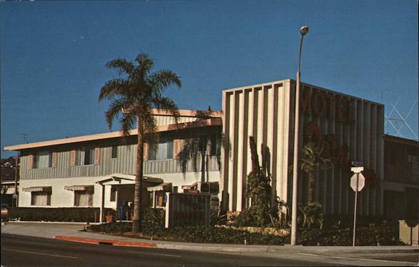 The Outrigger Motel San Diego California Arnold Zimmerly