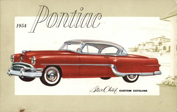 1954 Pontiac Star Chief Custom Catalina Cars