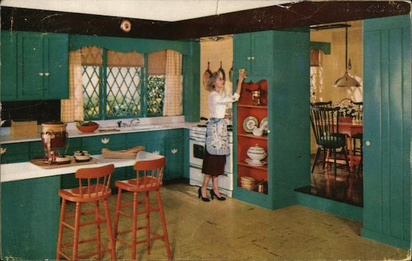 Kitchen Painted DuPont Duco Enamel Advertising