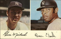 Horace Clarke and Gene Michael - New York Yankees