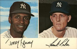 Jerry Kenney and Frank Baker - New York Yankees