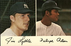Jim Lyttle and Felipe Alou - New York Yankees