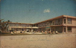 Kon Tiki Apartment Motel Postcard