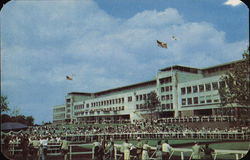 Monmouth Park's New Grandstand Postcard
