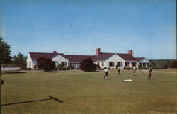 Golf Course, Camp Lejeune Postcard