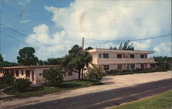 Ebb Tide Motel and Apartments Postcard