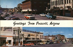 Greetings from Prescott, Arizona - Two Street Views