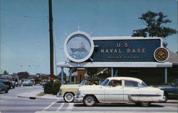 Main Gate at the U. S. Naval Base at Norfolk