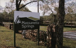 Massanetta Springs Conference Center Postcard