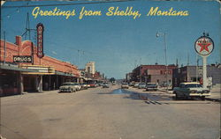 Greetins from Shelby, Montana