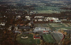 Aerial View of Cornell University