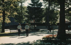 Center of Interlochen's Beautiful Campus